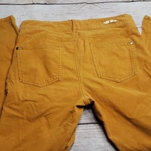 Anthropologie Pants - Anthropology P&TL Gold Yellow Corduroy Pants 30